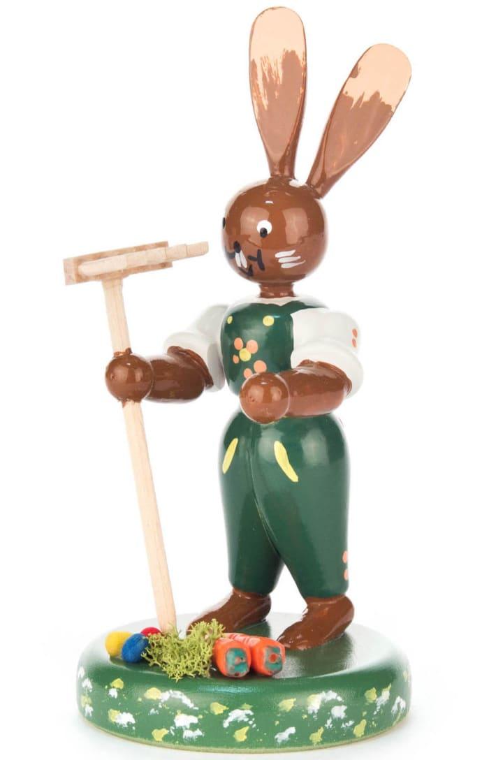 Dregeno Bunny Gardener Easter Figure
