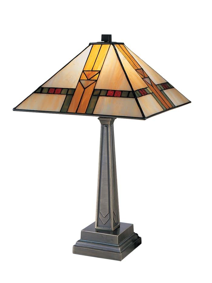 Edmund Tiffany Mission Table Lamp