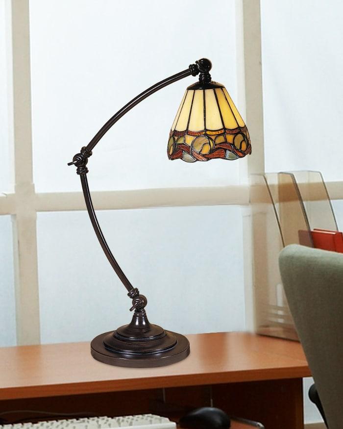 Ainsley Tiffany Desk Lamp