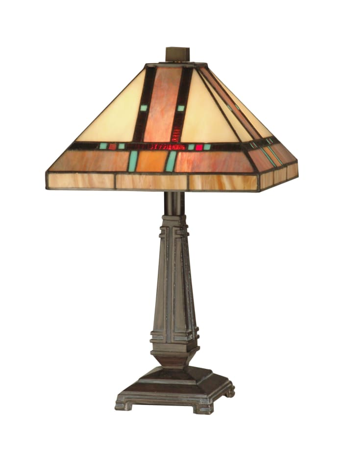 Hyde Park Tiffany Mission Tiffany Table Lamp