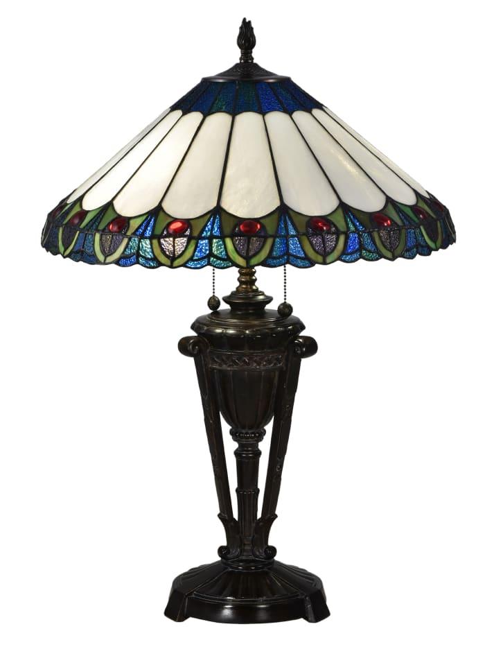 Mesa Peacock Table Lamp