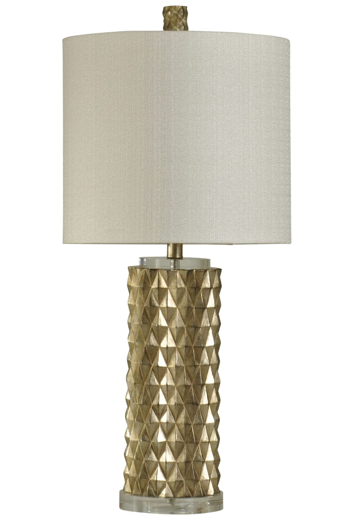 Devonshire Contemporary Gold Finish Table Lamp