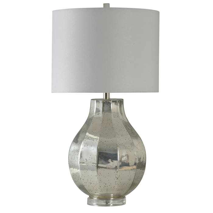 Silver Finish Table Lamp