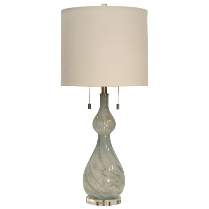 Bluegate Finish Table Lamp