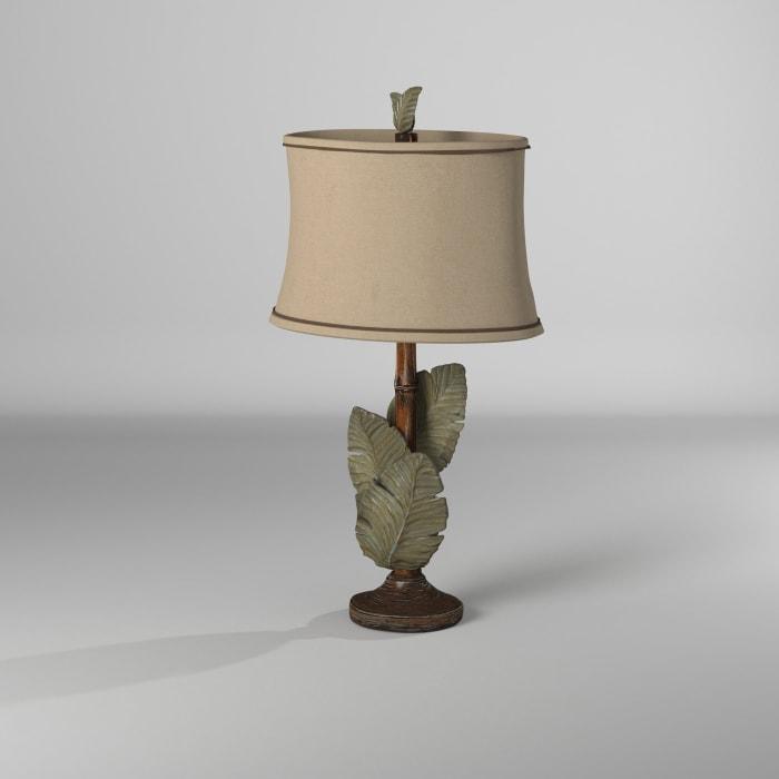 Islamadora Wentworth Bronze and Gray Finish Table Lamp
