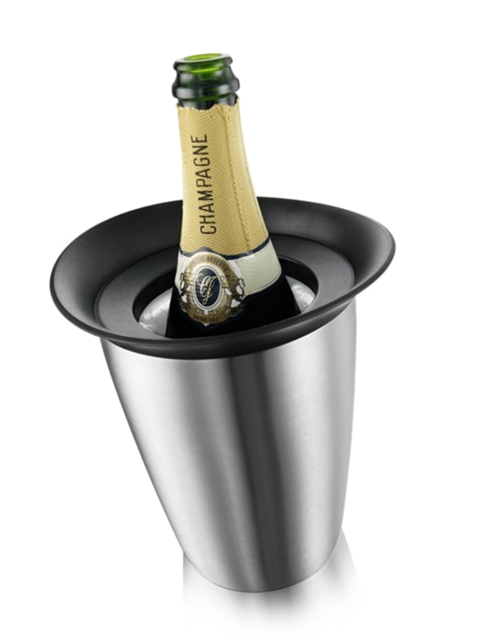 Stainless Steel Champagne Active Cooler