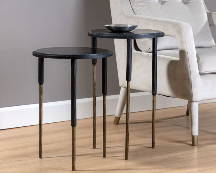 Kyrie Nesting Side Tables Set of 2