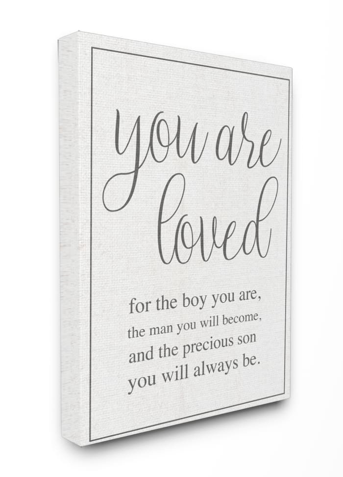 You Are Loved Wall Art