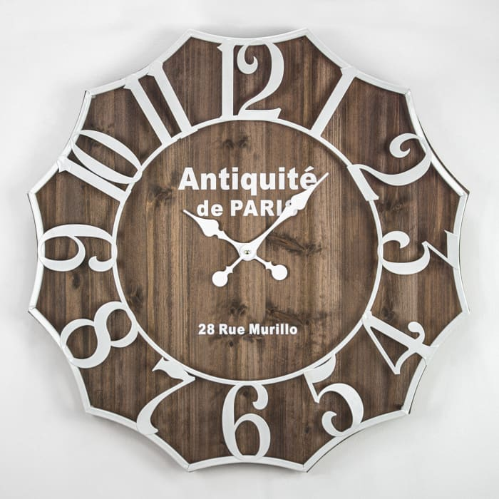 Antiquite de Paris Oversized Vintage Wall Clock