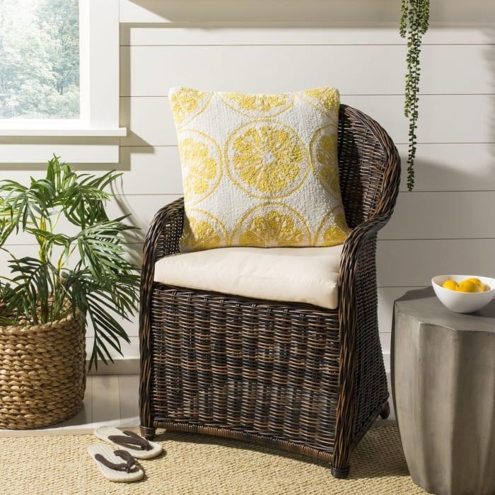 Lemon Squeeze Yellow Pillow