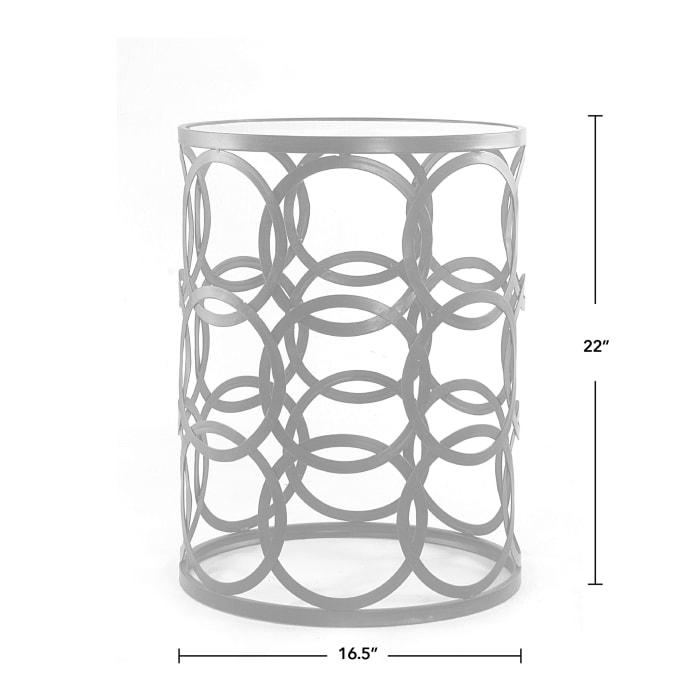 Interlocking Circles Side Table