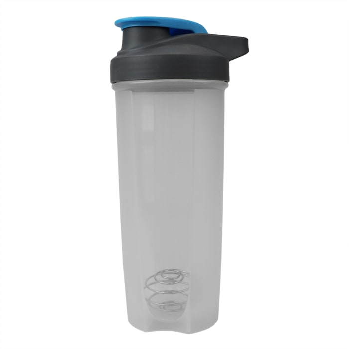 Flip Top with Measurement Markings Plastic Clear Bottle