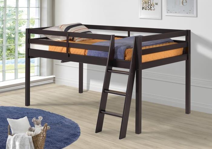 Roxy Wood Twin Junior Loft Bed