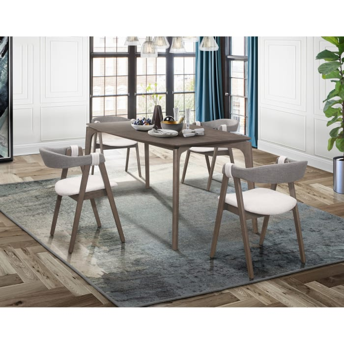 Maggie Rustic Grey Dining Chair