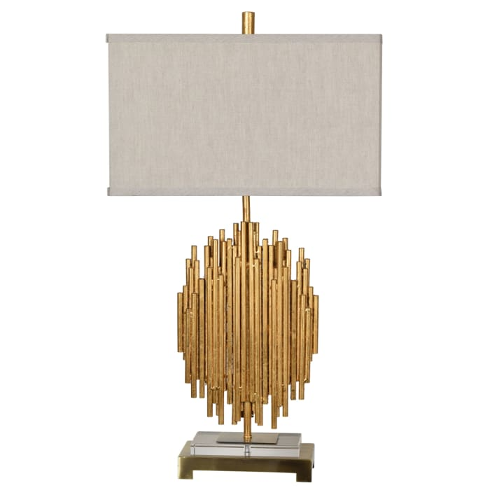 Mingus Gold Metal Modern Table Lamp