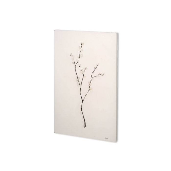 Snow Greetings I Wrapped Canvas Wall Art