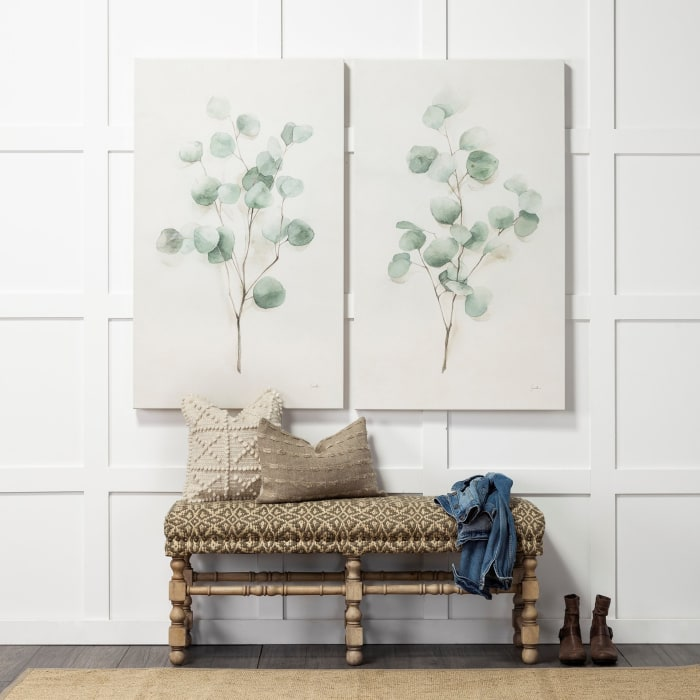 Spring Gestures I Wrapped Canvas Wall Art