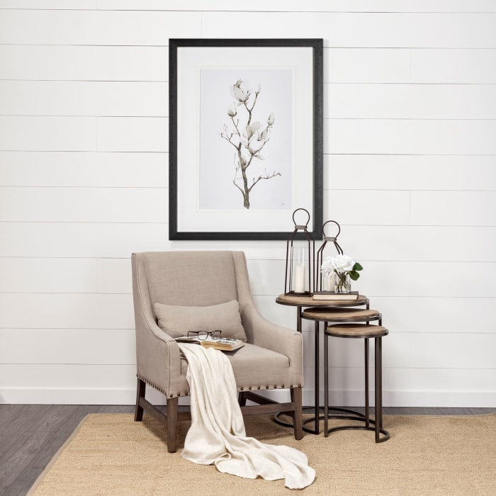 Magnolia II Wrapped Canvas Wall Art