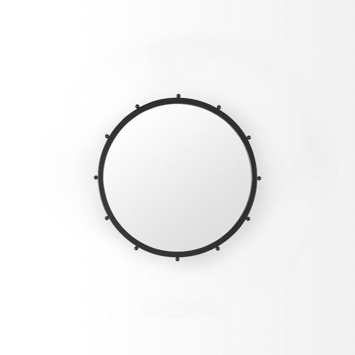 Elena I Small Black Wall Mirror