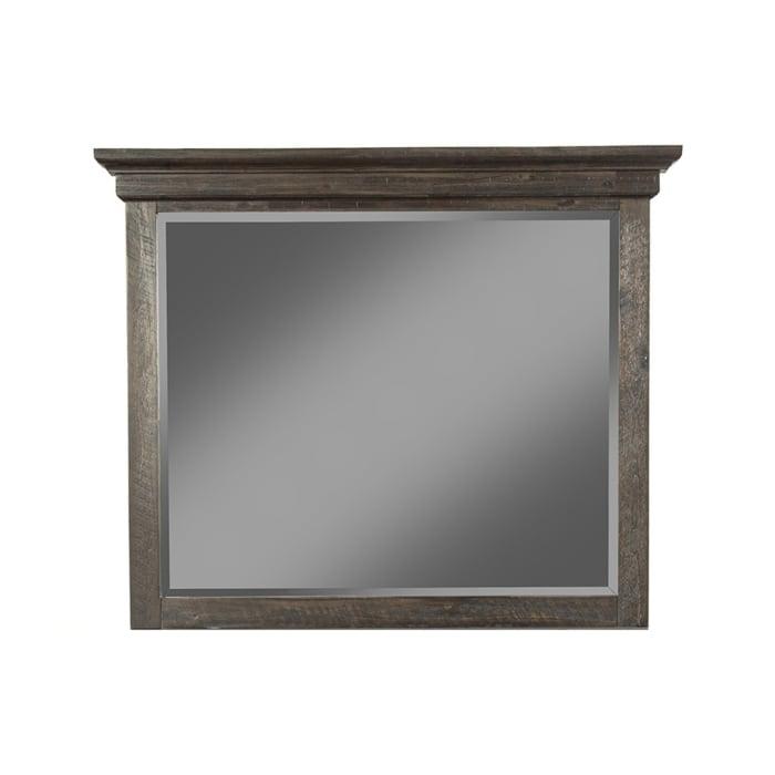 Newberry Mirror in Salvaged Gray