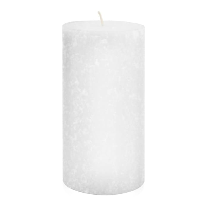 Root Candles 3 x 6-Inches White Unscented Timberline Pillar Candle