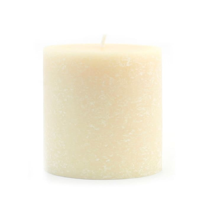 Root Candles 3 x 3-Inches Buttercream Unscented Timberline Pillar Candle