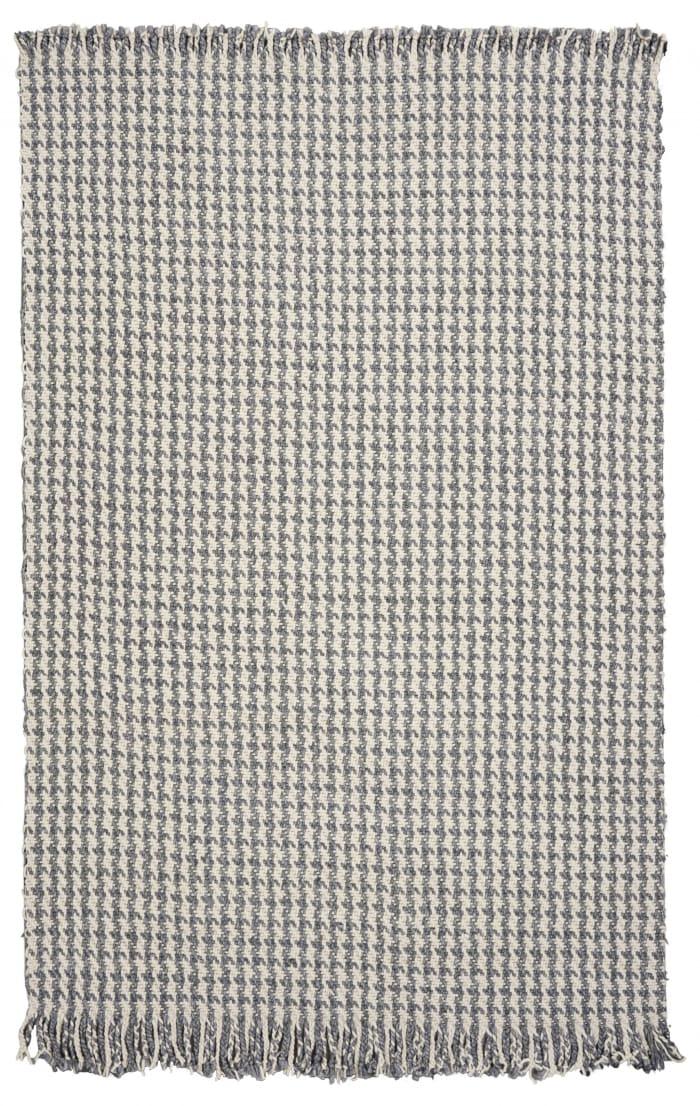 Wool Ivory/Grey Area Rug