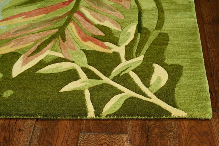 Wool Multicolor Area Rug