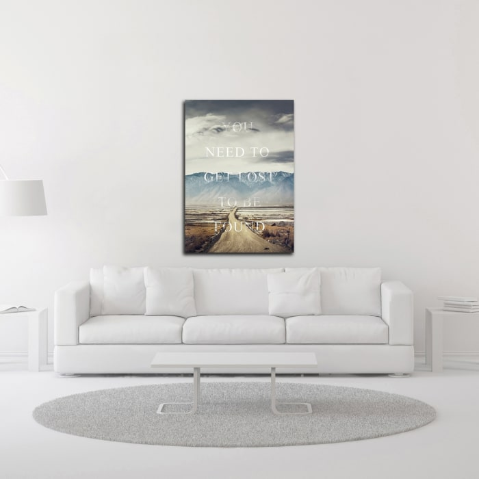 Get Lost by Design Fabrikken Wrapped Canvas Wall Art
