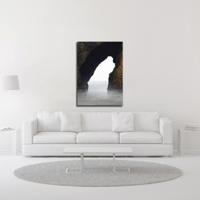 Ocean Rock by Design Fabrikken Wrapped Canvas Wall Art