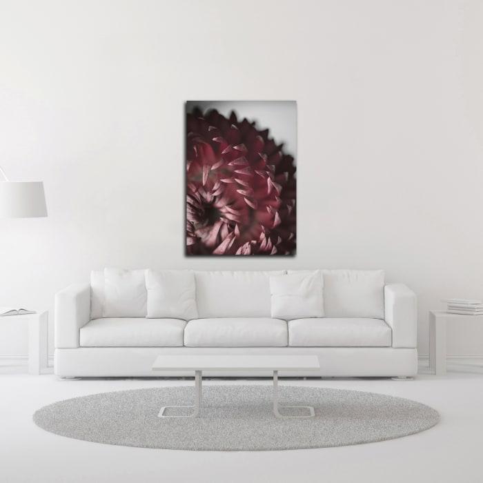 Dahlia by Design Fabrikken Wrapped Canvas Wall Art