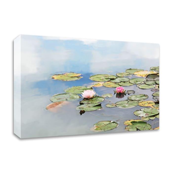 Monet's Garden by Brooke T. Ryan  Wrapped Canvas Wall Art