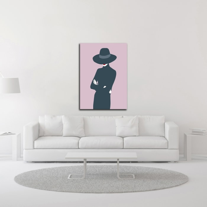 Lady No. 3 by Sean Salvadori  Wrapped Canvas Wall Art