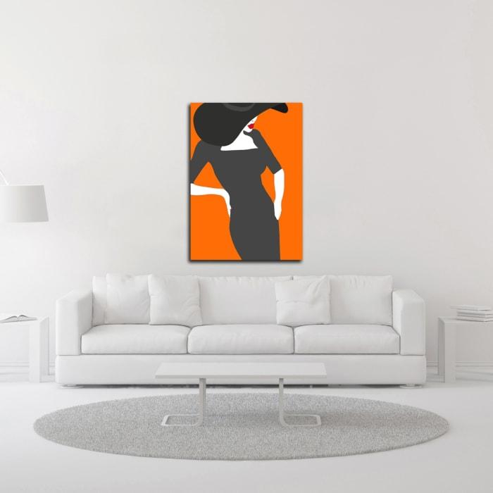 Lady No. 18 by Sean Salvadori  Wrapped Canvas Wall Art