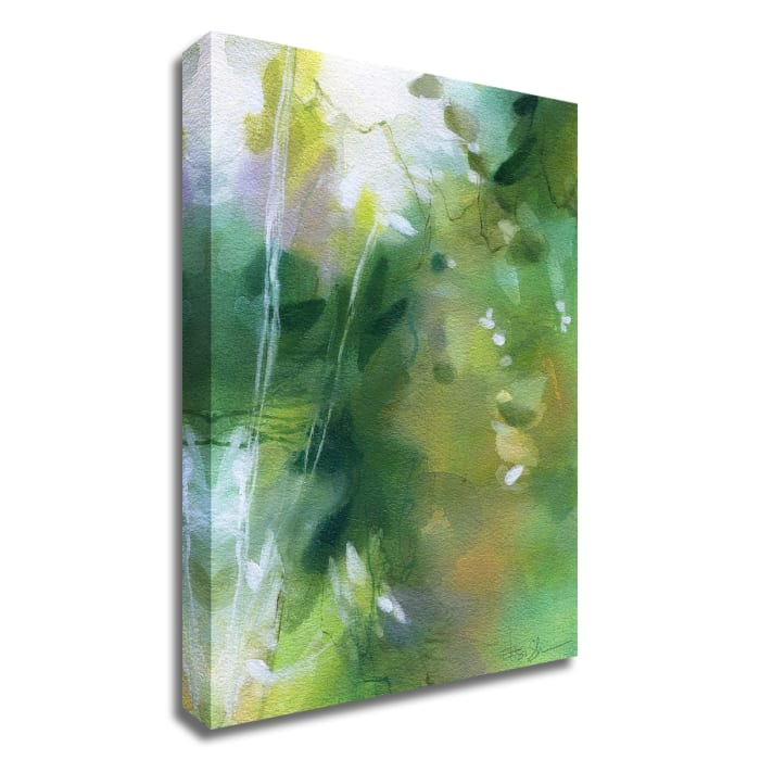 Verdant Shallows I by Elisa Sheehan  Wrapped Canvas Wall Art