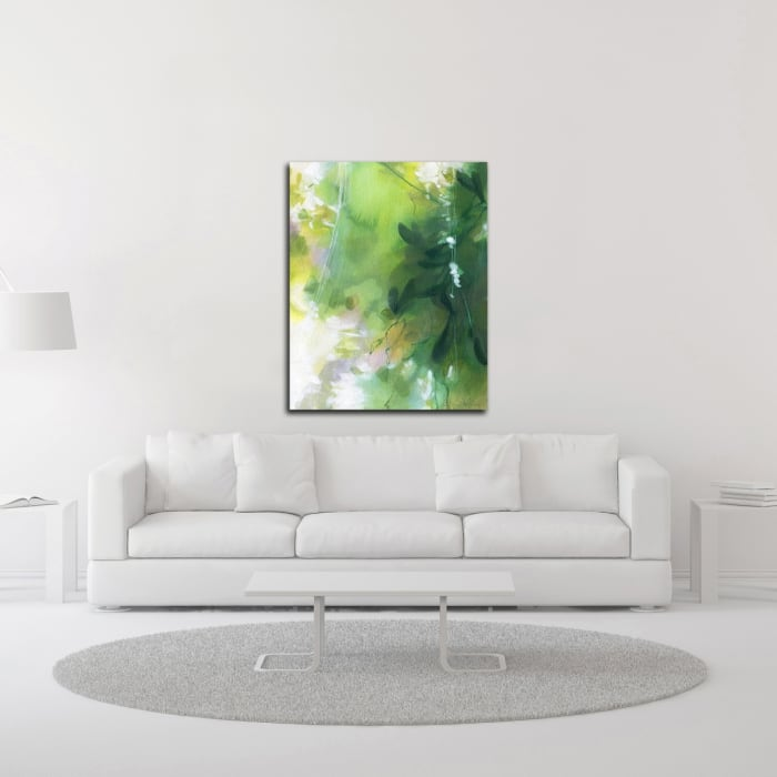Verdant Shallows II by Elisa Sheehan  Wrapped Canvas Wall Art