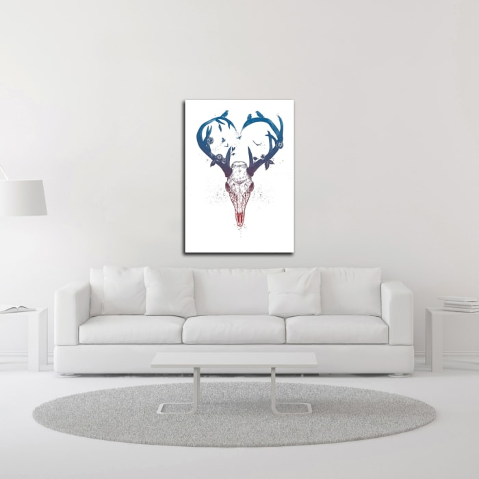 Neverending Love by Balazs Solti  Wrapped Canvas Wall Art