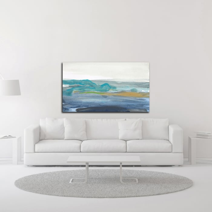A Breaking Wave by Jan Weiss  Wrapped Canvas Wall Art
