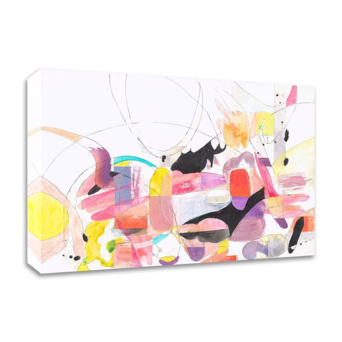 Papers No. 1 by Erin McClusky Wheeler  Wrapped Canvas Wall Art