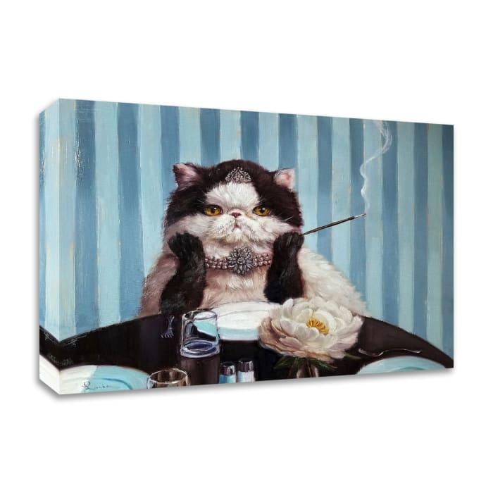 Breakfast at Tiffany's by Lucia Heffernan Canvas Wall Art