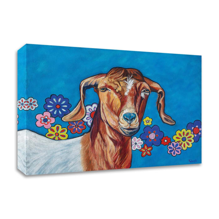 Gertie by Kathryn Wronski Canvas Wall Art