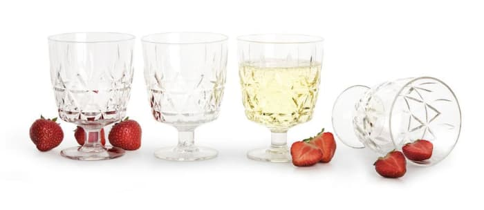 Outdoor Wine Glasses - 4 pack