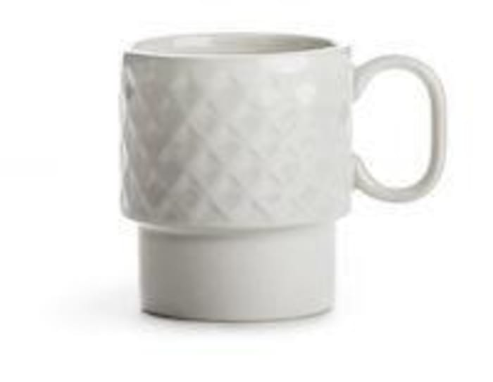 Coffee & More white mug