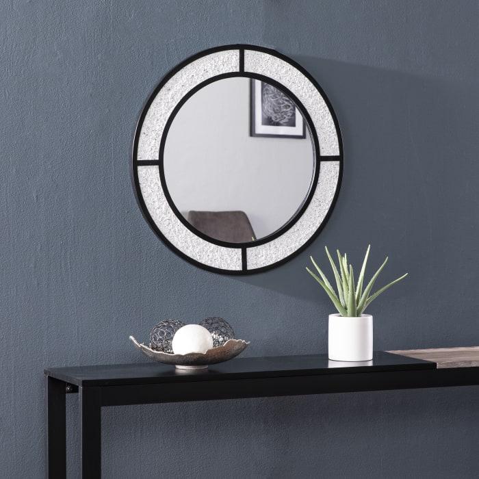 Lorcan Round Fauxstone Mirror