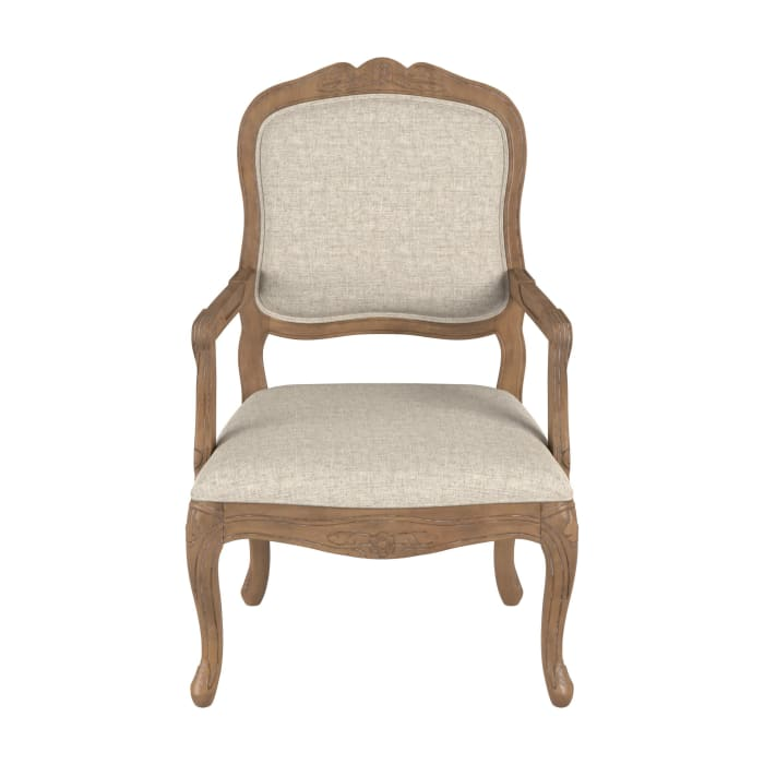 Palladino Wood Carved Accent Chair