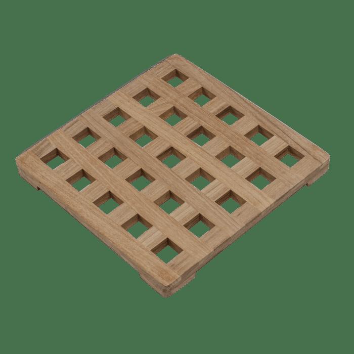 Large Square Teak Trivet
