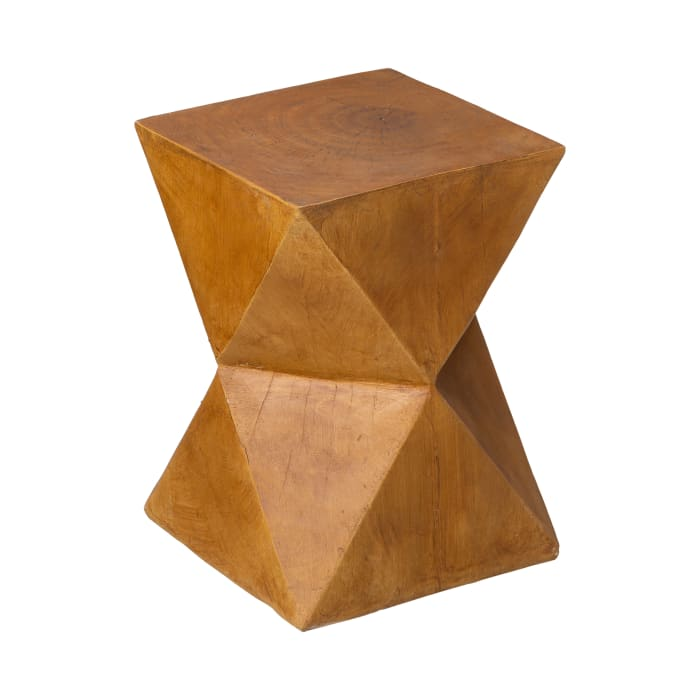 Multi-functional Faux Wood Garden Stool