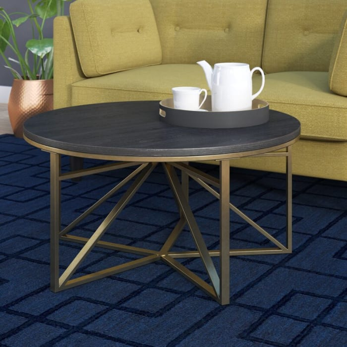 Posh Pollen Carlo Round Coffee Table