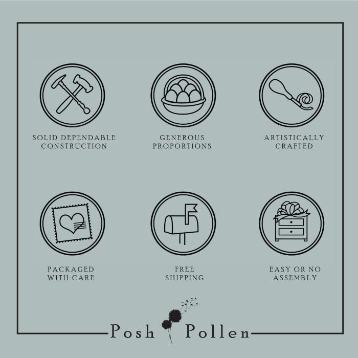 Posh Pollen Dexter Mid-Century Coffee Table
