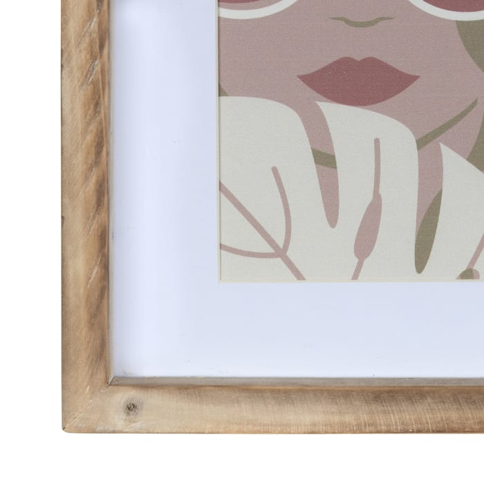 Pretty Lady in Shades Framed Wall Art